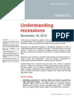 Understanding Recessions