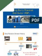 Rotary Slurry Distributor