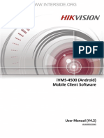 Hikvision - IVMS-4500(Android) Mobile Client - User Manual of Software_V4.2_20150810 - interside.org
