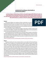 Analisis Contextual de La Aprobacion de La Reformas en Mexico