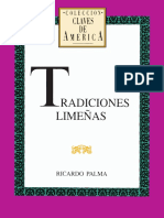 Tradiciones Limeñas - Ricaldo Palma.pdf