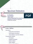 spectrum estimation.ppt