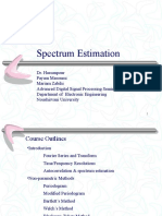 spectrum estimation.ppt