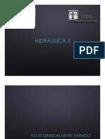 Clase 07a, Hidraulica II