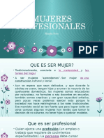 Mujeres Profesionales