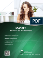 Master Sciences Du Medicament (SALON-18041)