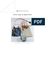 Adafruit Arduino Lesson 16 Stepper Motors