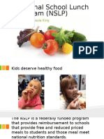 national school lunch program  nslp