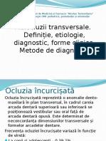 Ortodontie. Anomalii Transversale.