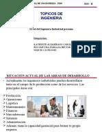 El Rol del Ingeniero Industrial en Perú, especificamente dentro de la capital de Lim