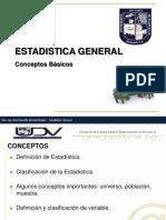 Presentación Sesión 1 - Estadística General (Resumen)