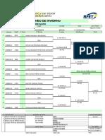 Torneo Invierno 2015 CUADROS