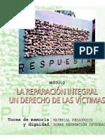 La reparación integral un derecho de las víctimas