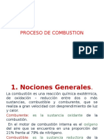 Proceso de Combustión E.ch