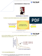 Curso Mantenimiento Predictivo Tecsup Correctivo Preventivo Presicion Maquinaria Planta Mpd Monitoreo