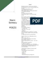 Marin Sorescu - Poezii
