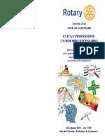ETICA E PROFESSIONI