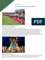 Fiesta de La Virgen de La Candelaria en Puno