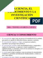 CIENCIA Y CONOCIMIENTO e Investigación Científica