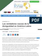 Las Verdaderas Causas de La Desigualdad en América Latina Panampost_com Carlos_sabino