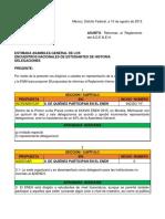 Reformas Al Reglameto - Unicach-Enah, Versión 1.0
