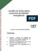 Sondeo Bebidas Energeticas 2011