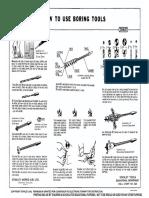How to Use Boring Tools (Wall Chart No. S23)