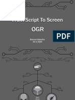 Script to Screen OGR #1
