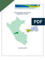 Análisis de la región Pasco en Perú.