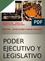 Derecho Constitucional Peruano - Poder Ejecutivo y Poder Legislativo