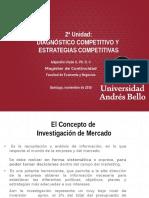 2ª Unidad- Diagnóstico Competitivo y Estrategias Competitivas