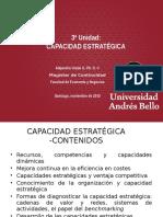 3ª Unidad- Capacidad Estratégica