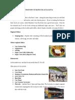 Gastronomy of Baños de Agua Santa