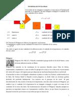 Teorema de Pitágoras y Teorema de los Catetos y de la Altura