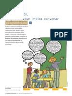 Esteve, O. (2009). La Interacción, Un Proceso Que Implica Conversar