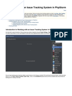 PhpStorm IntegrationwithanIssueTrackingSysteminPhpStorm 200116 0045 2516