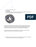 Type of Gears