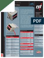 In-place MEMS Tilt Meter ICB0010V
