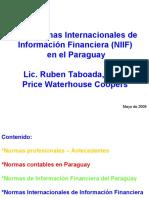 Normas Internacionales de Informacion