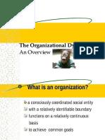 The Dynamics of Organization