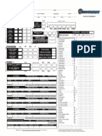 Character Sheet Shadowrun D20
