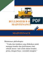 Bulldozer b 180 l Maintenace