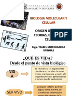 Origen de La Vida Teorias. Evolucion Nivelación (1)