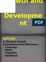 Toddler Growth and Development
