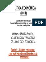 Economia Del Bienestar y Fallos de Mecado 1