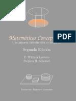 Matematicas Conceptuales Una Primera Introduccion a Categorıas