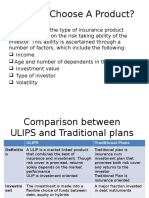Comparison Between Ulips and Traditional Plan