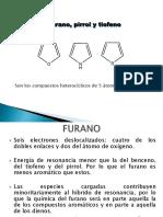 Clase 10 Furano, Pirrol, Tiofeno