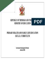 HFLE Curriculum Primary