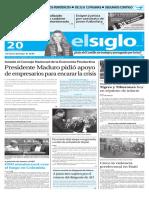 Edicion Impresa El Siglo 20-01-16